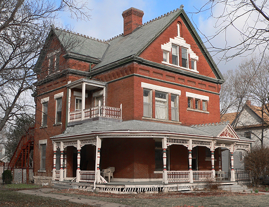 Eddy-Taylor House, ca. 1891, 435 North 25th Street, Lincoln, NE, National Register