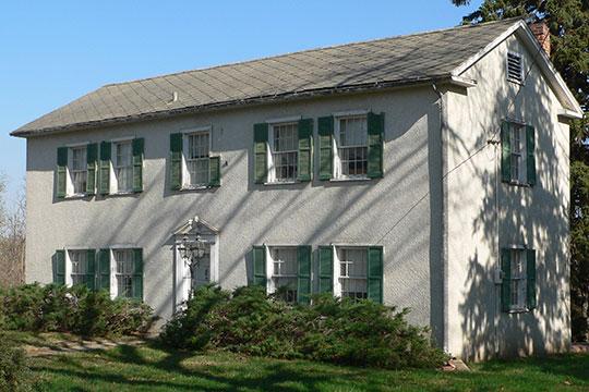 William Hamilton House, ca. 1856, 2003 Bluff Street, Bellevue, NE, National Register