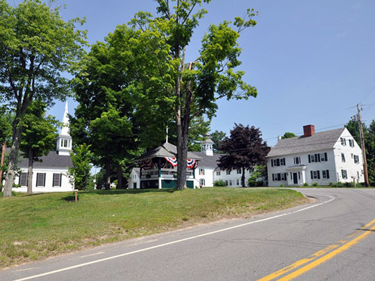 Lords Hill Historic District, Route 153, Effingham, NH, National Register