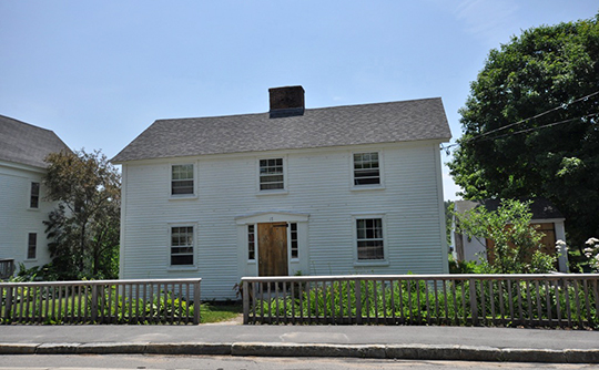 Hansen's Annex, ca. 1839, Main Street, Center Sandwich Historic District, Sandwich, NH, National Register