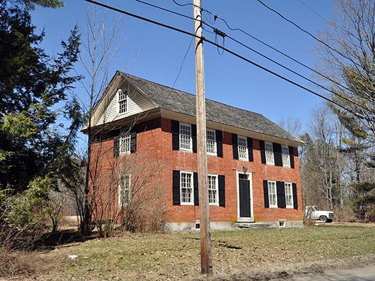 House in the Pottersville Historic District, Harrisville, NH