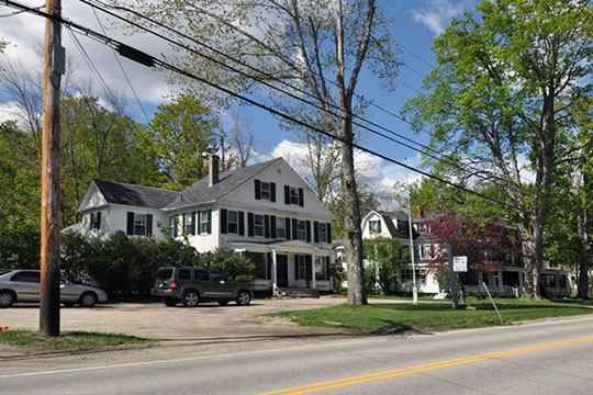Route 124, Jaffrey Center Historic District, Jaffrey, NH, National Register