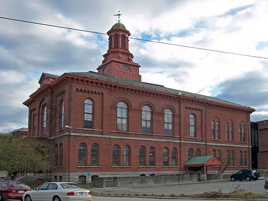 Cheshire County Courthouse, ca. 1859, 12 Court Street, Keene, NH, National Register