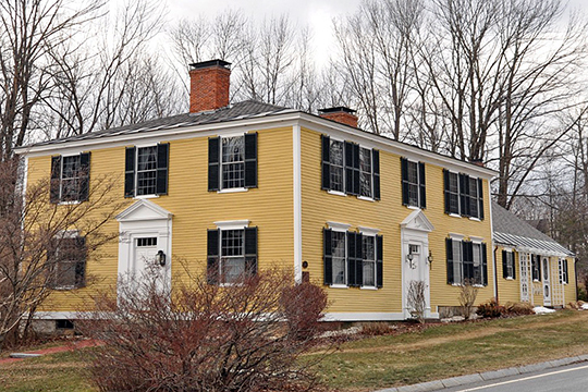 Levi Woodbury Homestead, ca. 1789, 1 Main Street, Francestown, NH, National Register
