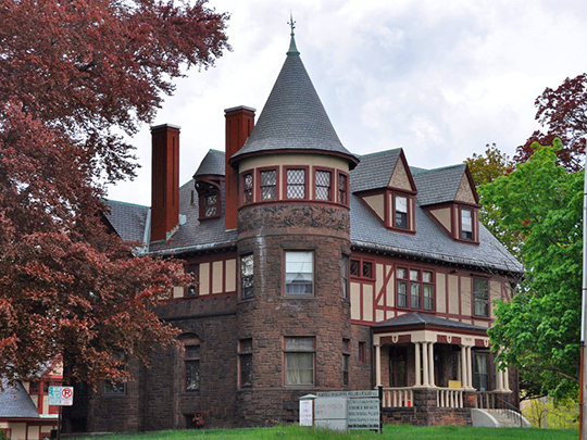 Frank Pierce Carpenter House, ca. 1891, 1800 Elm Street, Manchester, NH, National Register