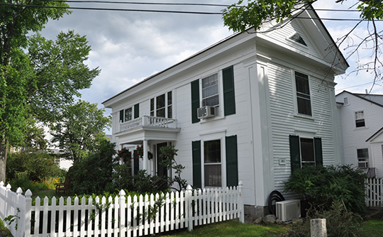 Dr. Solomon M. Whipple House, ca. 1850, Main Street, New London, CT, National Register