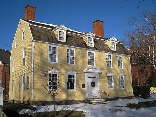 John Paul Jones House, ca. 1758, Portsmouth, Rockingham County, NH, National Register