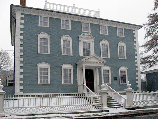 Moffatt-Ladd House, ca. 1763, 154 Market Street, Portsmouth, NH, National Register
