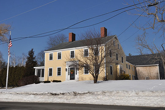 Home on Highland Road, ca. 1820, South Hampton, NH