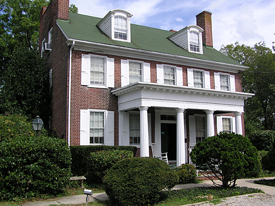 Stokes-Evans House, Marlton, NJ, National Register, Burlington County