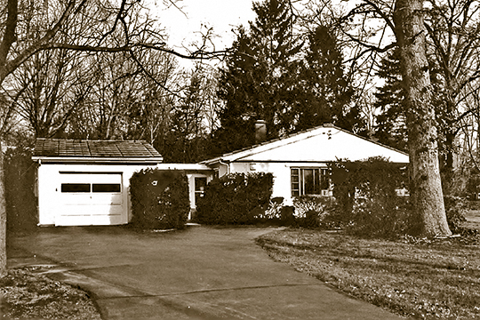 Harold Hess Lustron House, ca. 1950, 421 Durie Avenue, Closter, NJ, National Register