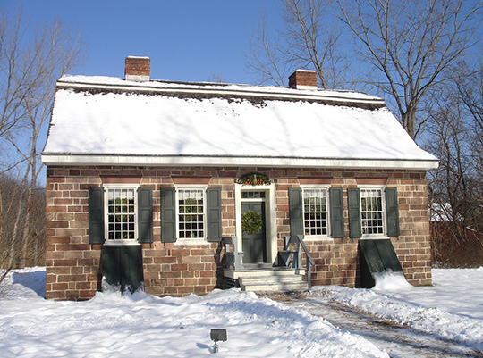 Campbell-Christie House, ca. 1774, 1201 Main Street, River Edge, NJ, National Register