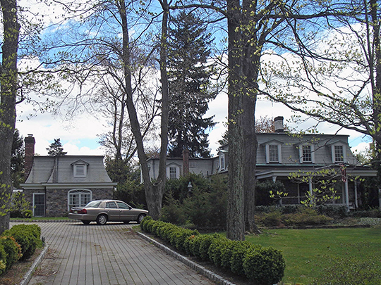 Ackerman House, ca. 1811, Saddle River, New Jersey, National Register