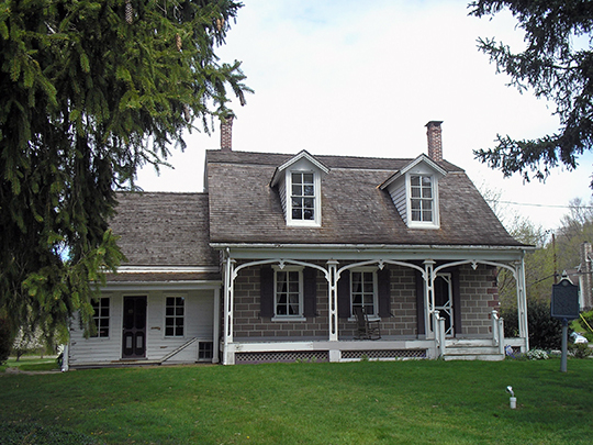 Hopper-Goetschius House, ca. 1739, 363 East Saddle River Road, Upper Saddle River, NJ, National Register