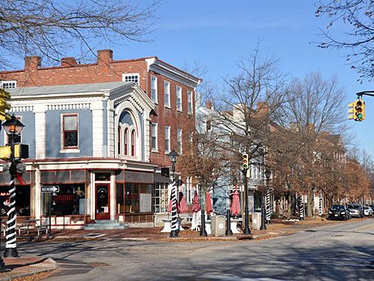 High Street, High Street Historic District, Burlington, NJ, National Register