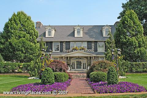 Delaware Avenue neighborhood, Delanco Township, Burlington County, NJ
