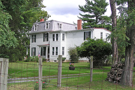Evens-Cooper House, ca. 1800, South Elmwood Road, Evesham Township, NJ, National Register