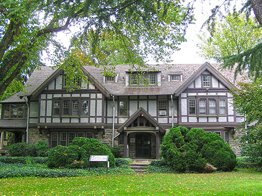 Perkins House, ca. 1910, Camden Avenue and King's Highway, Moorestown, N, National Register