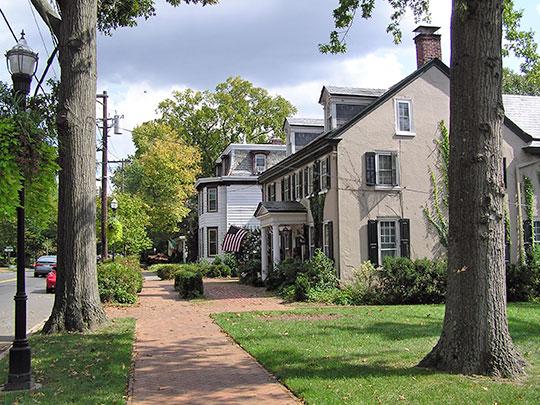East Main Street, Moorestown Historic District, Moorestown, NJ, National Register