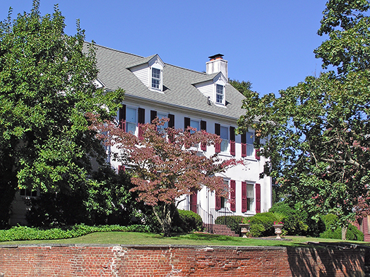 Morris Mansion, ca. 1750s, Hanover Street, Pemberton, NJ, National Register