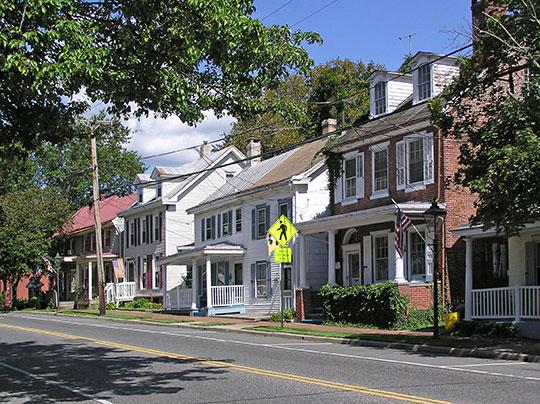 Hanover Street, Pemberton Historic District, Pemberton, NJ, National Register