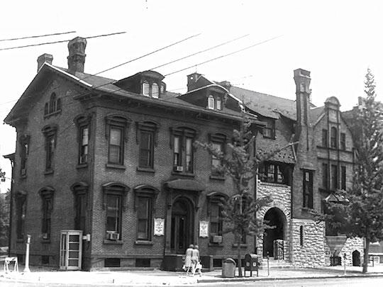 Dr. Henry Genet Taylor House, 305 Cooper Street, Cooper Street Historic District, Camden, NJ, National Register