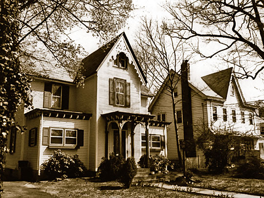 Homes on Chestnut Avenue, Cattell Tract Historic District, Merchantville, NJ
