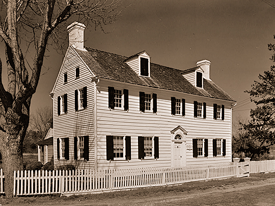 William S. Townsend House, Dennisville, Cape May County, NJ, ca. 1820