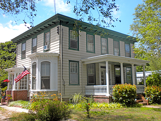 House, South Tuckahoe Historic District, Route 50, Cape May County, Upper Township, NJ, National Register