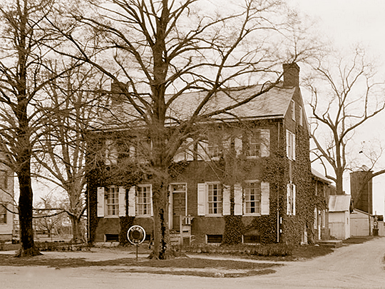 Ewing Homestead, ca. 1834, Main Street, Greenwich, Cumberland County, NJ