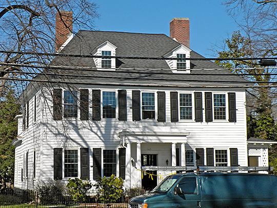 General James Giles House, ca. 1701, 143 W. Broad St., Bridgeton, New Jersey, National Register