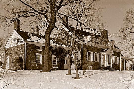 Kingsland Manor, ca. 1780s, 3 Kingsland Road, Nutley, NJ, National Register