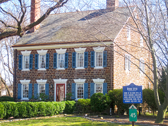 Boddo Otto House, ca. 1766, Route 551 at Quaker Road, Mickleton, NJ, National Register