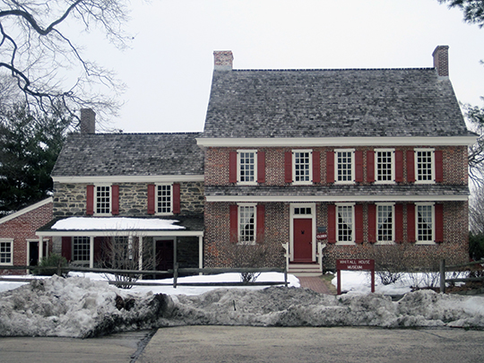 James Whitall, Jr. House, ca. 1766, 100 Grove Avenue, National Park, NJ, National Register
