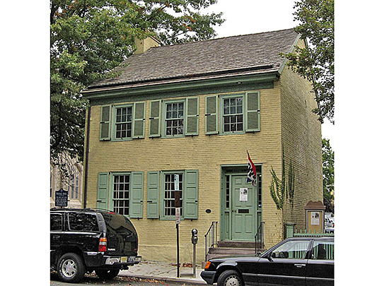 James W. Marshall House, ca. 1816, 60 Bridge Street, Lambertville, NJ, National Register
