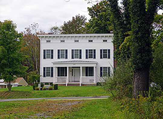 Bartles House, ca. 1842-1862, 159 Oldwick Rd, Tewksbury Township, NJ, National Register