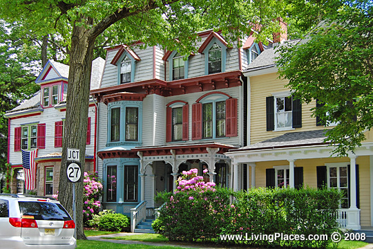 Photo: Rowhomes in Princeton New Jersey