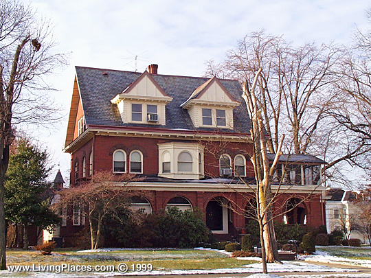 Home in the Berkeley Square Historic District, Trenton, NJ, National Register