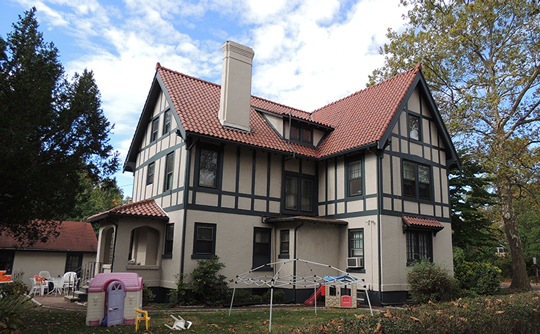 Home on Harrison Avenue, ca. 1913, Livingston Manor Historic District, Highland Park, NJ, national register