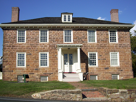 Cornelius Low House (Ivy Hall), ca. 1741, 1225 River Road, Piscataway, NJ, National Register