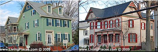 main street homes, allentown, national register, historic District