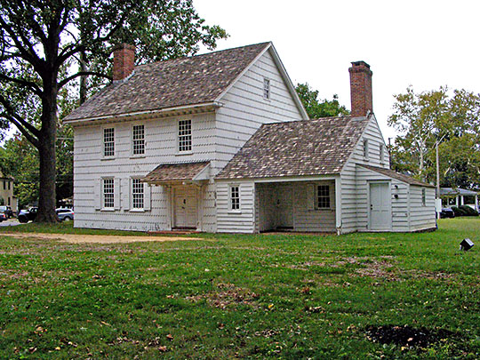 Hankinson-Moreau-Covenhoven House, ca. 1752, 150 West Main St., Freehold, NJ, National Register