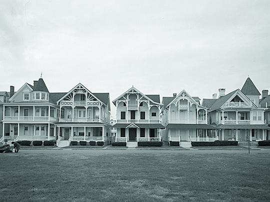 Ocean Grove Cottages, Ocean Pathway East of Beach Avenue.