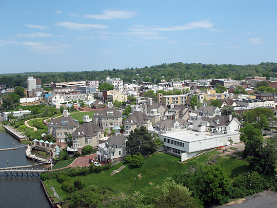 Red Bank Aerial View