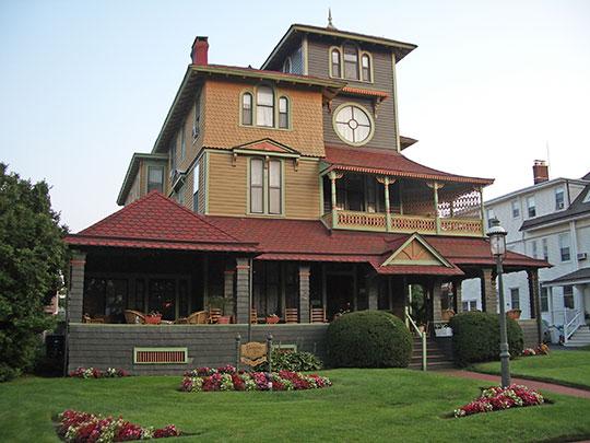 Audenried Cottage, ca. 1909, 21 Tuttle Avenue, Spring Lake, NJ, national register