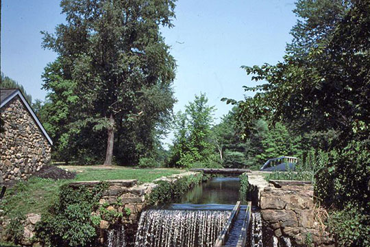 Morris Canal Lock at Waterloo Village, Sussex County, NJ.