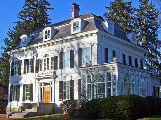 Thomas Nast Home, ca. 1873, MacCulloch Avenue and Miller Road, Morristown, NJ, National Register, National Historic Landmark