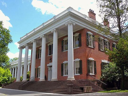 Gibbons Mansion (Mead Hall), ca. 1833, 36 Madison Avenue, Madison, NJ, National Register