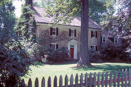 David Thompson House, ca. 1770, 56 West Main Street, Mendham, NJ, National Register