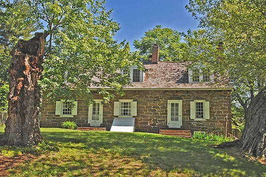Van Duyne-Jacobus House, ca. late 17th century, 29 Changebridge Road, Montville, NJ, National Register